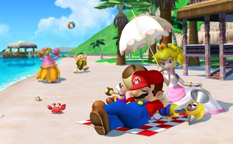 mario sunshine beach super mario bros 1990295 1024 768